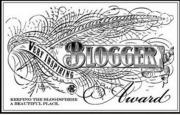 Very Inspirational Blogger award