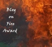 Blog on Fire award!