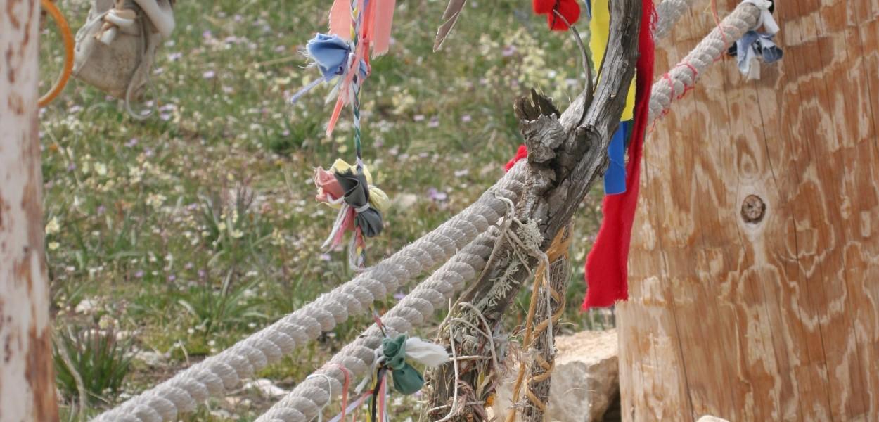 prayer bundles, Medicine Wheel