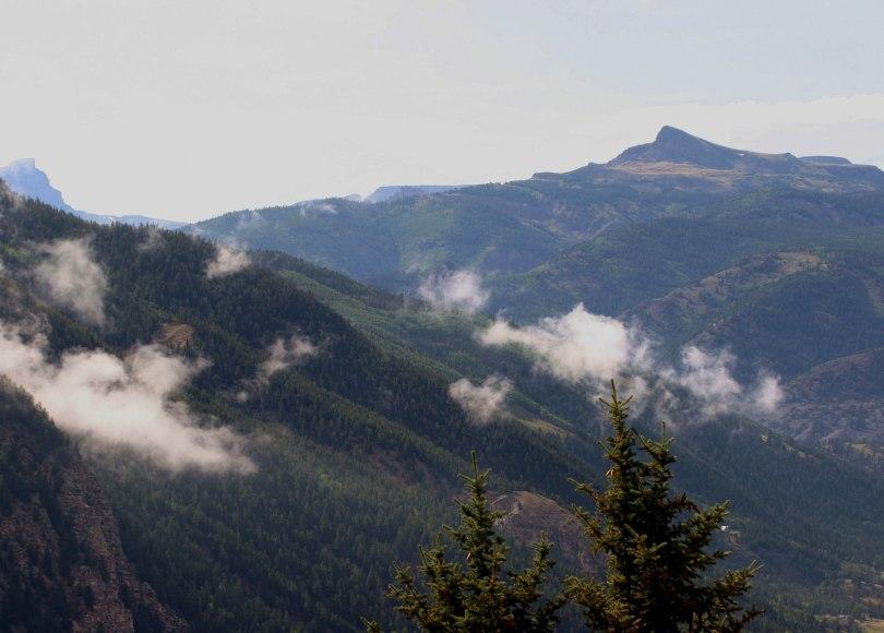 Colorado, mountains, clouds