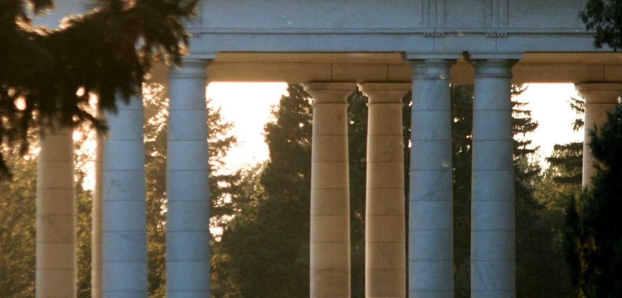 Columns, cheesman park, Denver