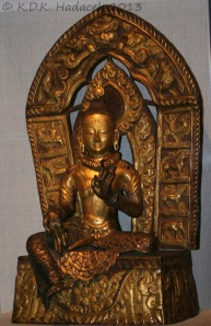 Statue of Kwan Yin, Goddess of Compassion, Denver Art Museum