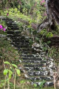 stone stairs, Hawaii