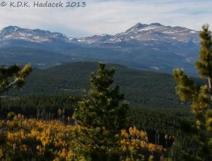 Colorado, Rocky Mountains, golden aspens, Golden Gate State Park