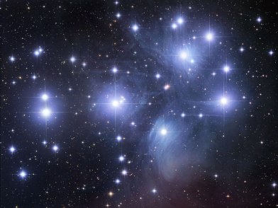 The pleiades, courtesy of NASA