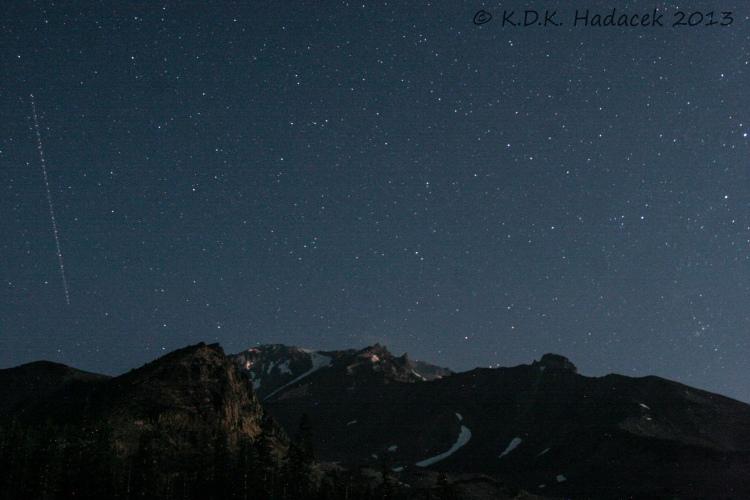 Summit of Mt. Shasta, California