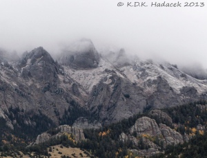 clouds, mountains, Crestone, Colorado