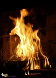 fire, fireplace