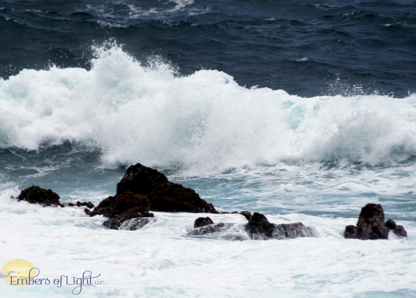 water, rocks, ocean, beach, wave, Laupahoehoe park