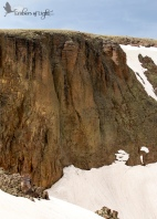 Cliffs and snow 1 CW