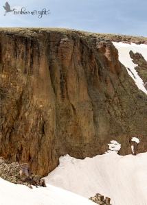 Snowy Clifff, Rocky Mountain National Park