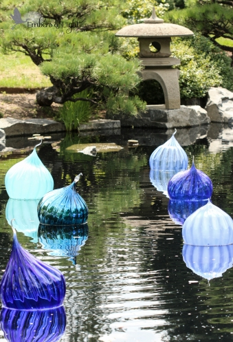 More Chihuly glasswork in the zen garden.