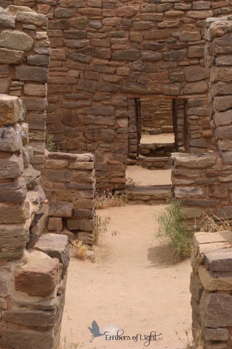 Aztec National Monument, doorways