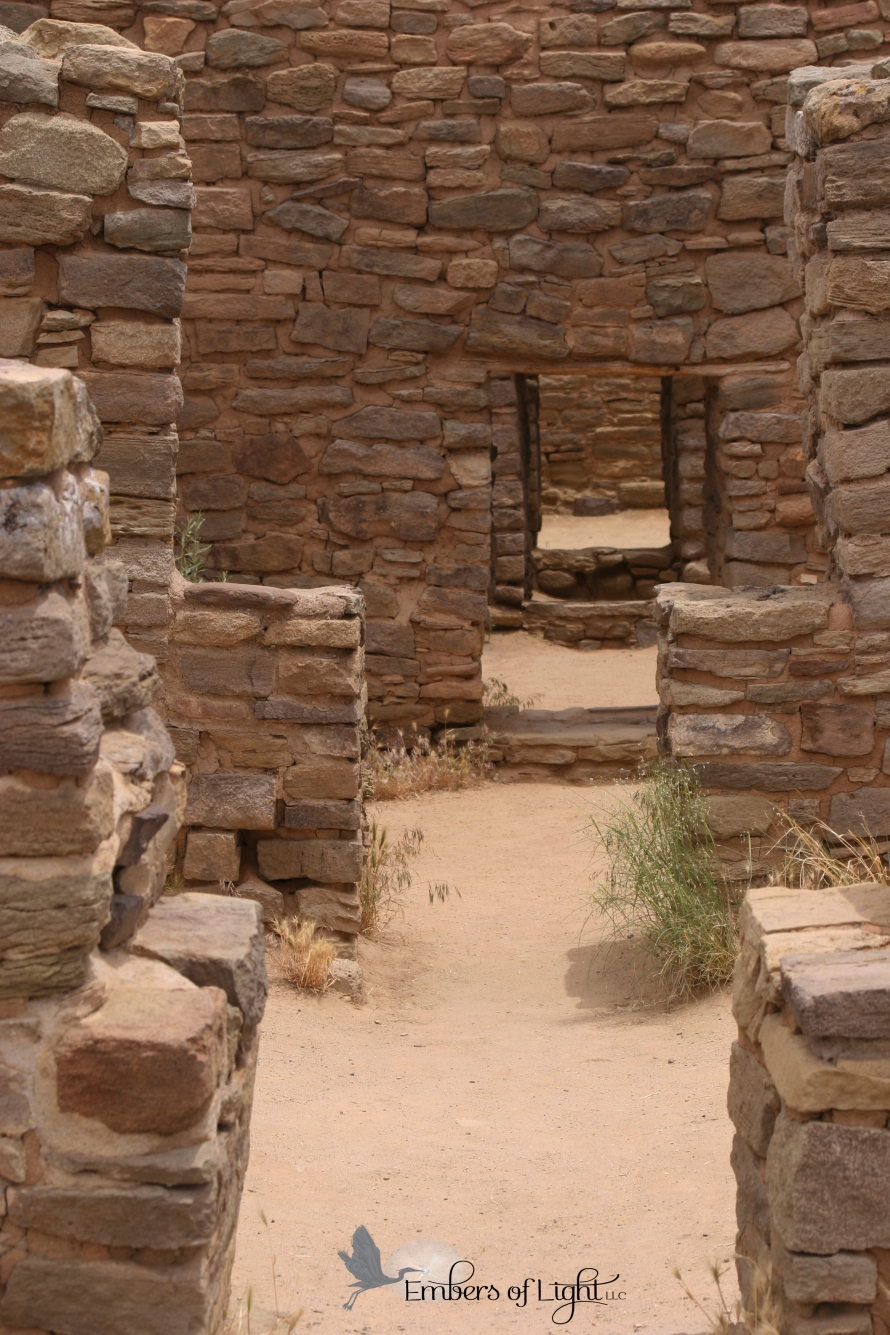 Aztec National Monument, doorways