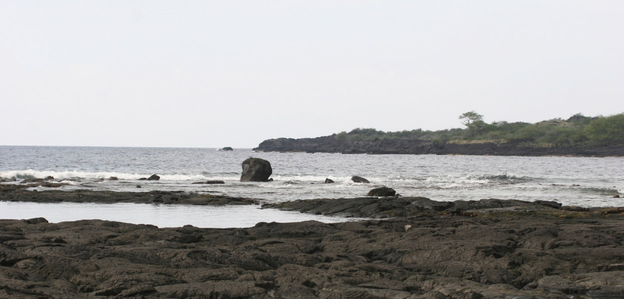 hawaiian beach; place of refuge