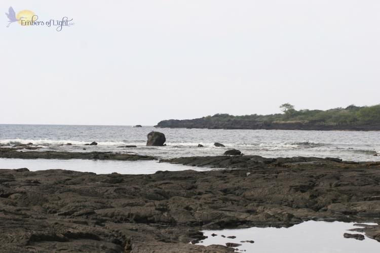 hawaiian beach; place of refuge