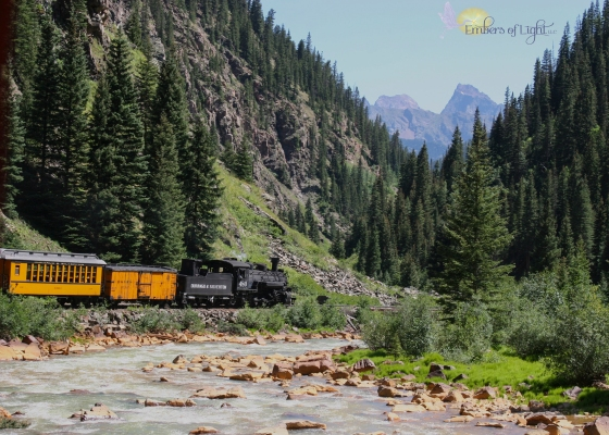 Durango to Silverton Narrow Gauge Railroad; Animas River