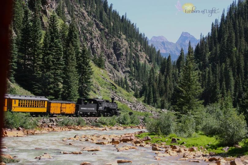 Durango to Silverton Narrow Gauge Railroad; Animas River