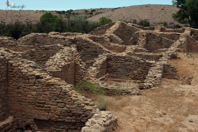 ruins, aztec national monument,