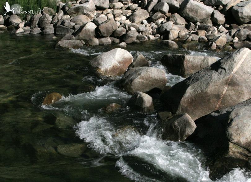 North Umpqua river, water, stream