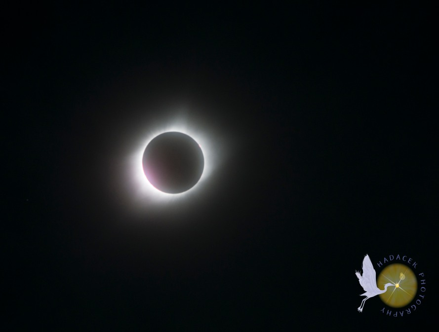 Eclipse at totality