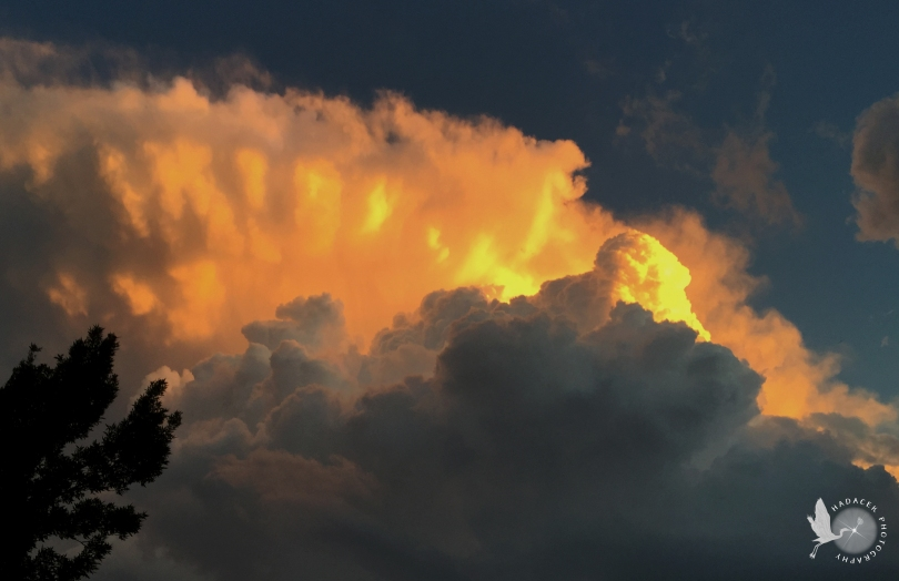 Storm clouds catching the sunset #05 of 14 CW