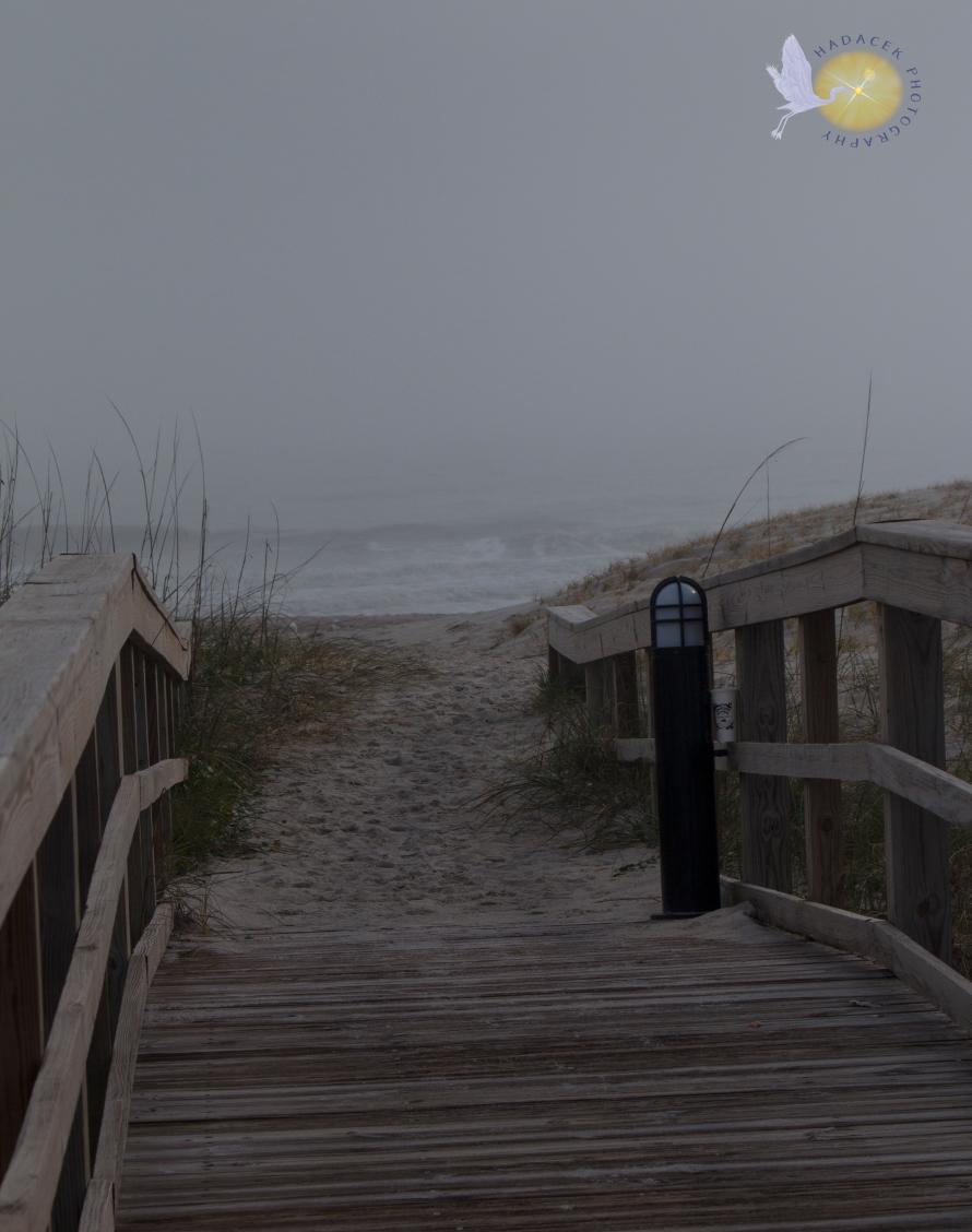 Bridge to a beach