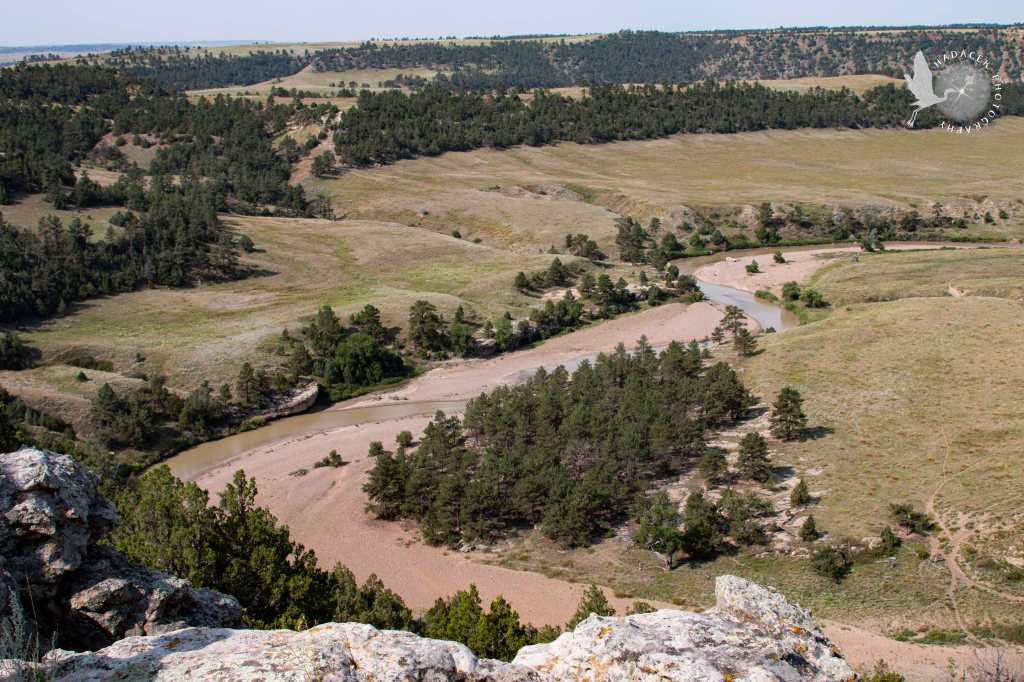 Black Hills Wild Horse Sanctuary, river